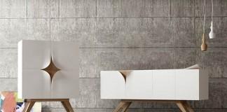 Slap furniture design concept by Nicola Conti.