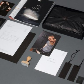 Thom/Krom - Fashion Label Branding by Karl Anders