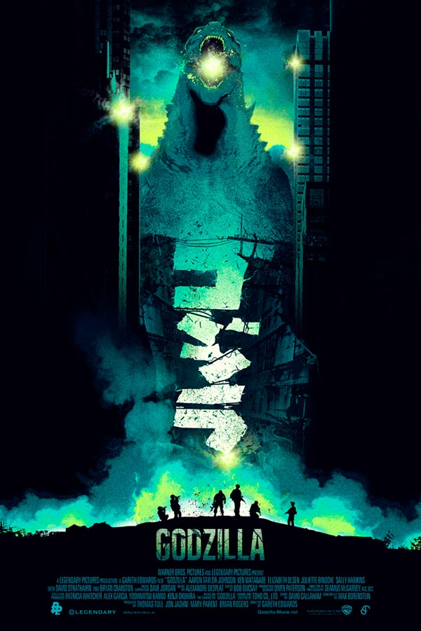 Alternative Godzilla Movie Posters