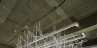 Vertical Emptiness GOoP - Installation by Japanese artist Yasuaki Onishi