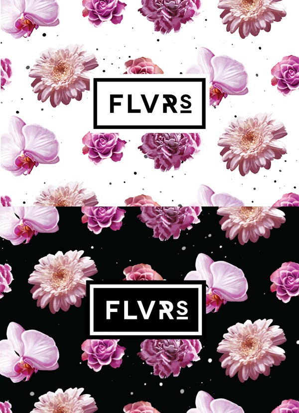 Floral visual identity design by Agata Fotymska for florist from Poland.