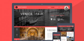Wayfarer - Travel Website and App Design Concept by Kristian Hay