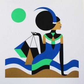Zodiac Series by Illustrator Malika Favre