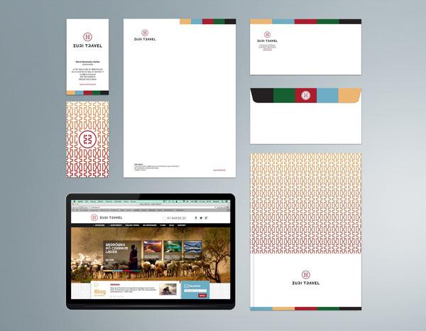 Zuri Travel - corporate identity by Republika Kreatywna