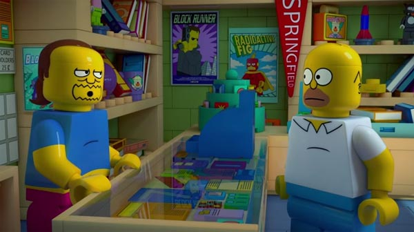 """Brick Like Me"" LEGO-Themed Episode of The Simpsons – Trailer"