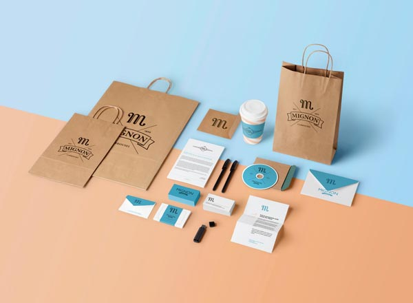 Mignon - art direction, branding, and packaging design by Benoit Galangau