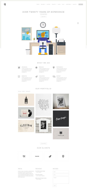 Quantum WordPress Theme - Agency Version