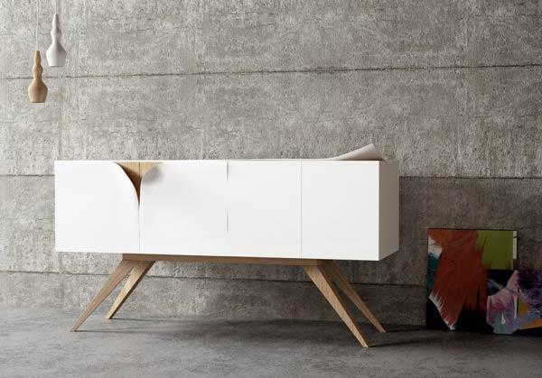 Sideboard Of A Unique Furniture Design Concept By Nicola Conti.