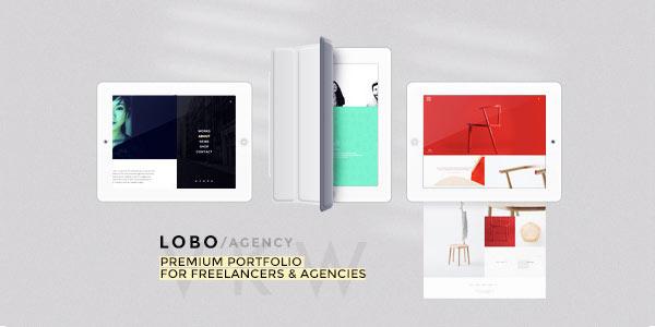 Lobo - Portfolio WordPress theme