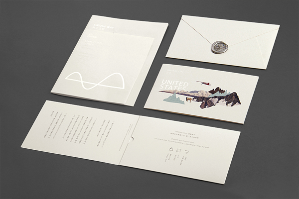 Unique Way - printed collateral by ONE & ONE DESIGN based in Beijing, China