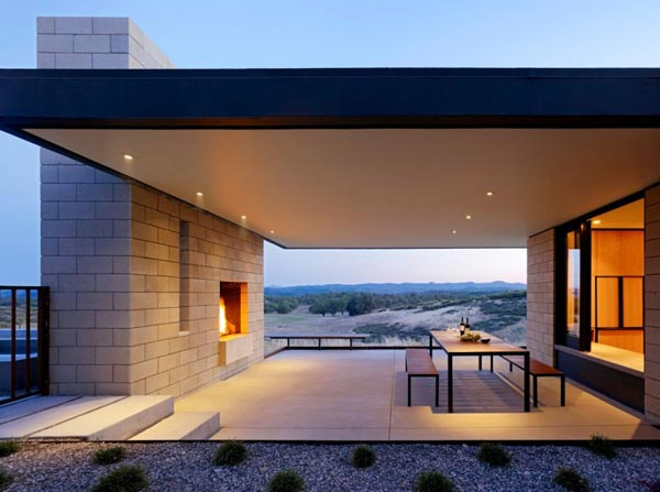 Residence in California's Central Coast Wine Region