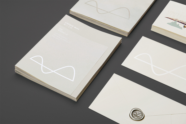 UniqueWay - brand communication design by ONE & ONE DESIGN from Beijing, China