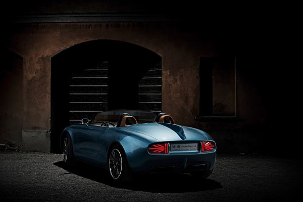 MINI Superleggera™ Vision is a unique Mini Cooper roadster concept by by MINI in cooperation with Touring Superleggera from Italy.