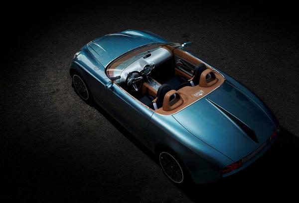 MINI Superleggera™ Vision - classy shapes of a purebred roadster.