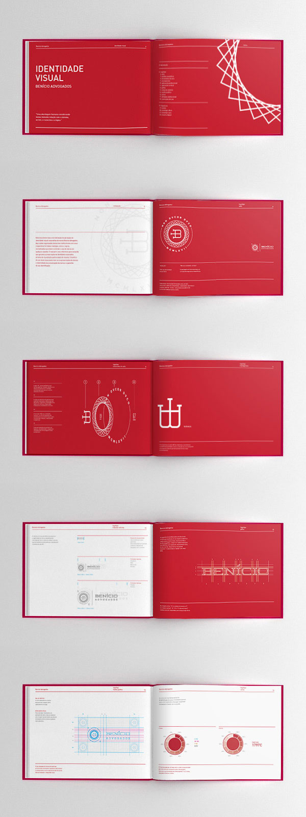A Sophisticated Lawyer's Office Identity Design