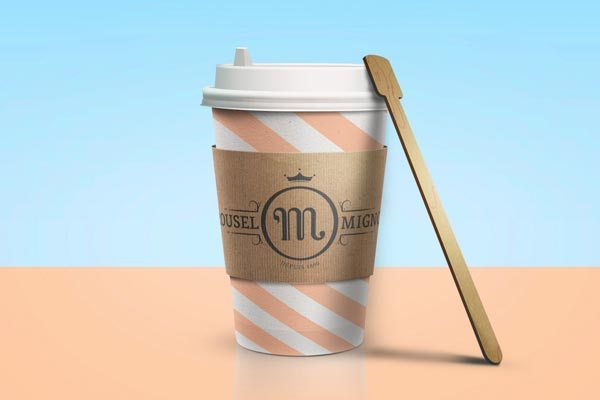 Traditional cup design by Benoit Galangau for Mignon