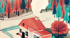 A rather lovely thing - animated short film by Cesar Martinez