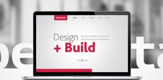 Bekshta Corporate Website Design