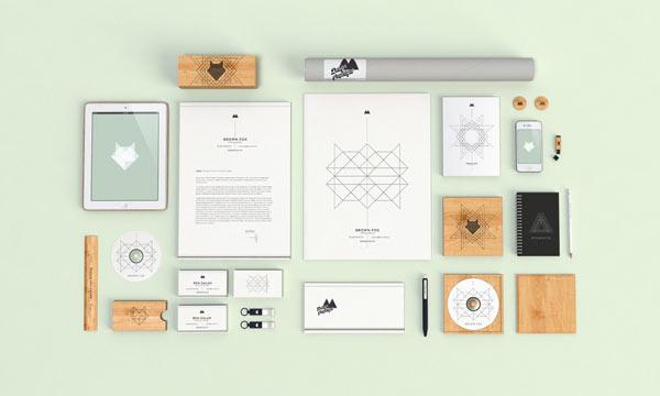 Brown Fox - advertising agency identity