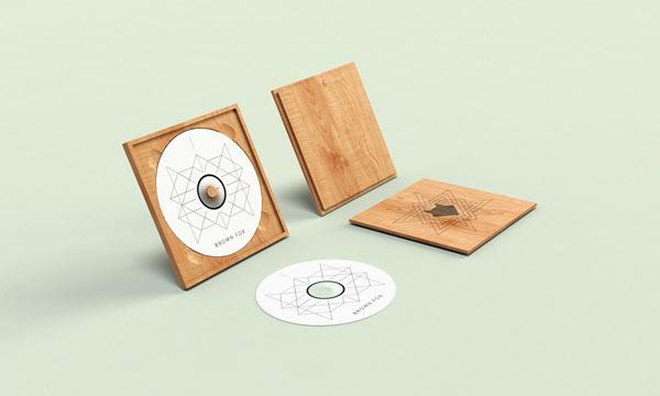 Brown Fox - unique dvd and case design