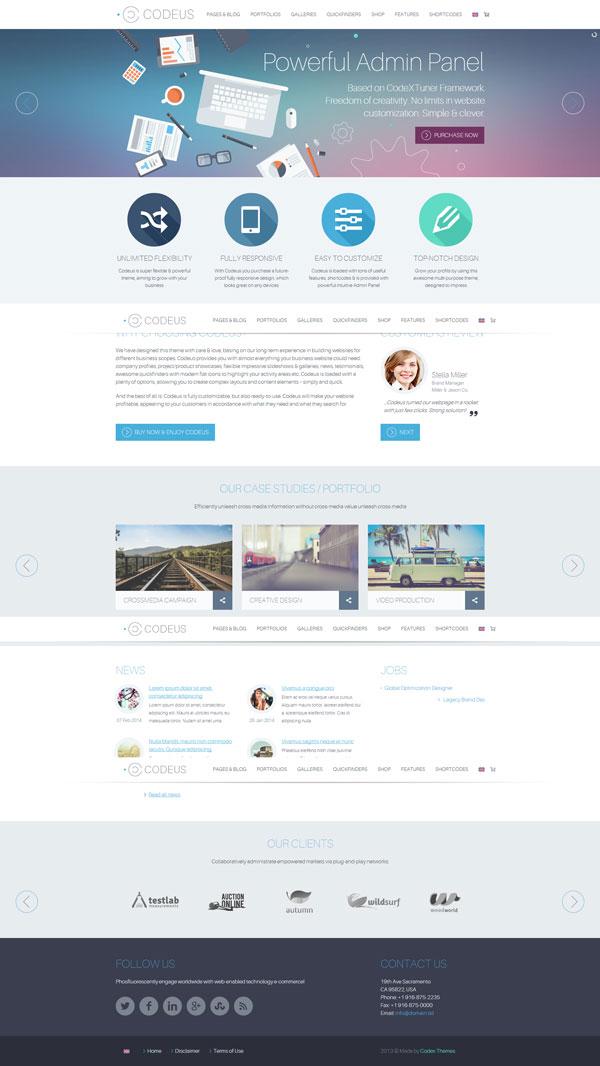 Codeus – Premium WordPress Theme