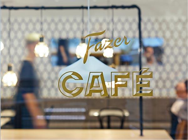 Fazer Café – Graphic Design and Typography by Kokoro & Moi