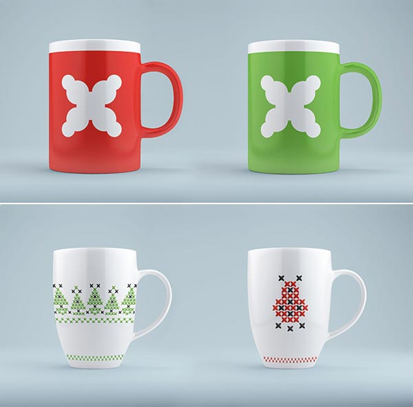 Ivano-Frankivsk - Visual Identity - Cups