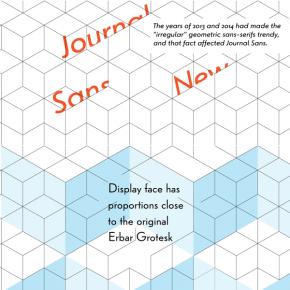 Journal Sans New Font Family