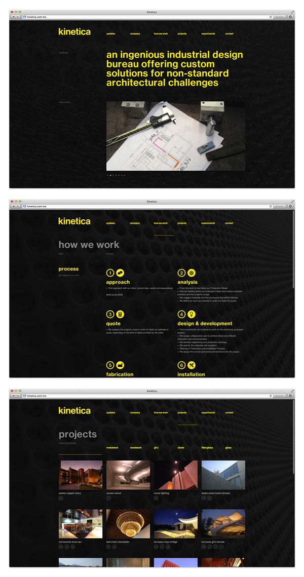 Corporate Identity Design by Studio Face for Kinetica