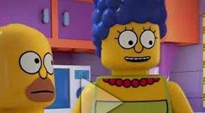 LEGO-themed episode of The Simpsons - Trailer