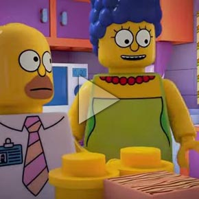 """Brick Like Me"" LEGO-Themed Episode of The Simpsons - Trailer"