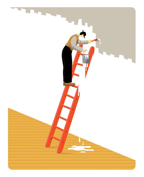 Ladder - Illustration by Craig Frazier