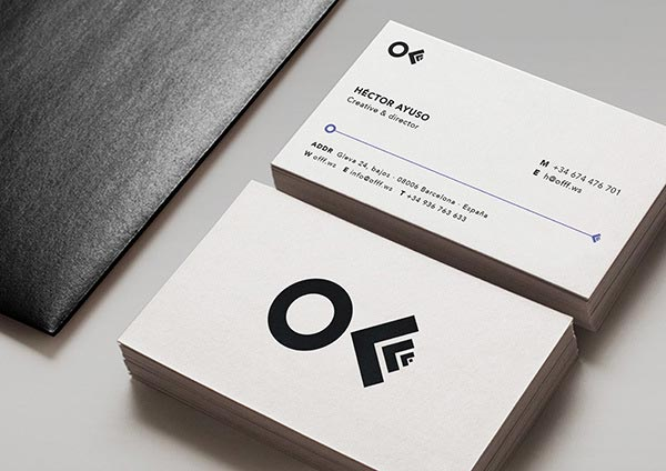 OFFF Festival Business Cards