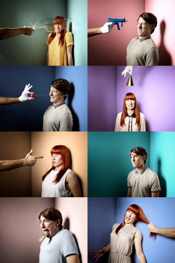 funny photographic portrait series