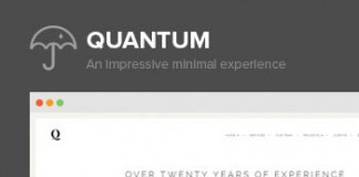 Quantum - Portfolio and Photography WordPress Theme
