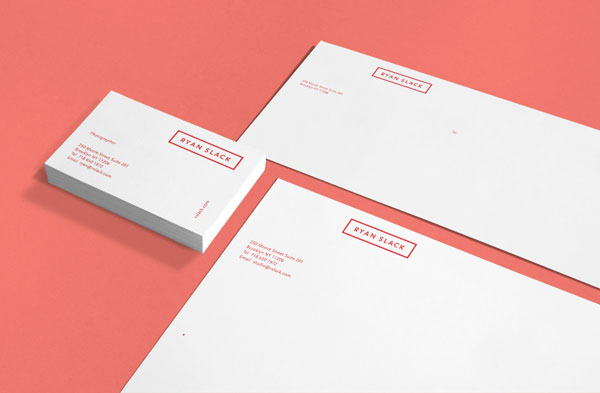 Ryan Slack - Stationery by Studio Newwork