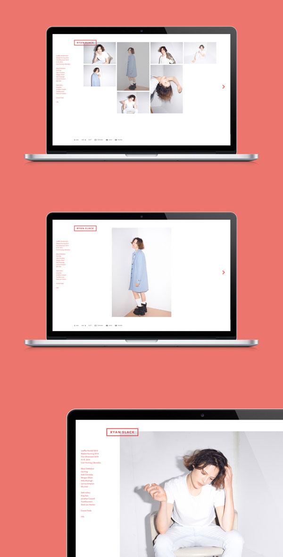 Ryan Slack - Website by Studio Newwork