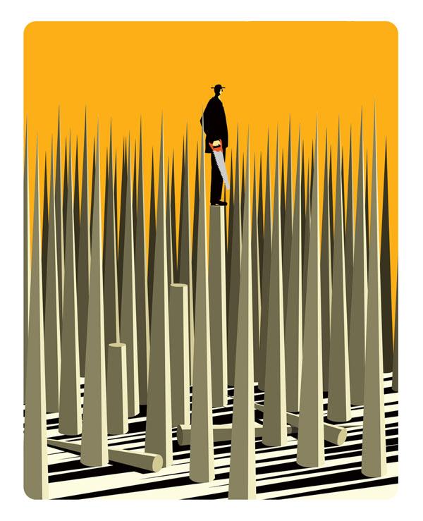 Saw - Artwork by Illustrator Craig Frazier
