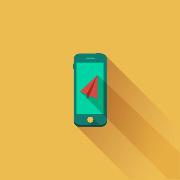 Smartphone - Flat Design by Tsveta Petrova