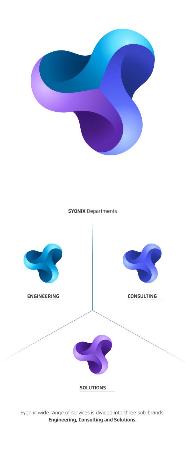 Software Development Company Identity by Necon