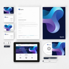 Software Development Company Identity by Necon