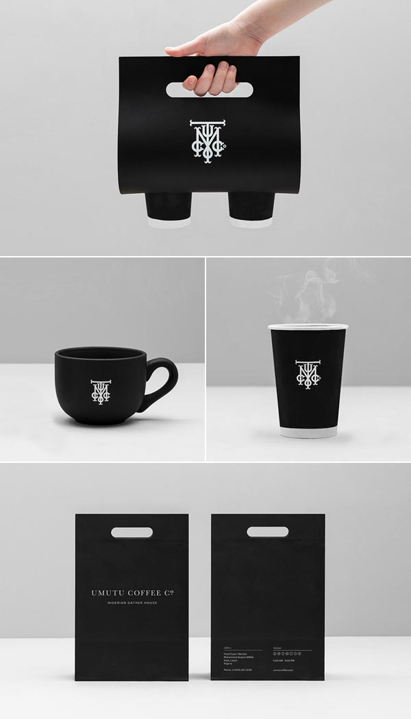 Coffee House Branding by Anagrama