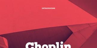 Choplin font family, a geometric slab serif typeface with nine uprights plus matching italics designed by René Bieder.