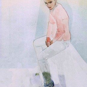 Fashion illustrations by Steve Kim