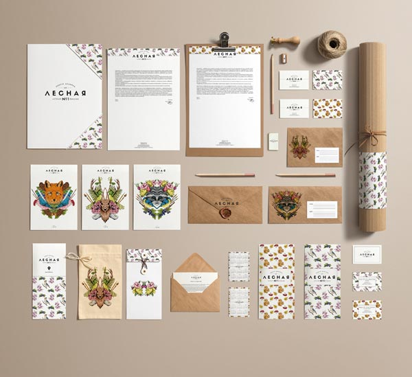 Forest Design Week – Event Identity Design by Anastasia Kolesnikova