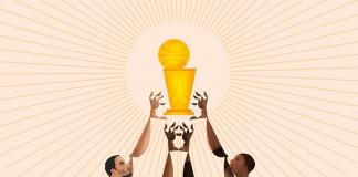 NBA Playoffs 2014 - The Finals - San Antonio Spurs vs Miami Heat - Illustrations by Davide Barco