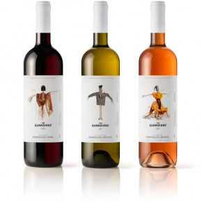 Wine Packaging Design for THE GUARDIANS*