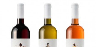 THE GUARDIANS* - red, rose, white wine packaging design by Mousegraphics