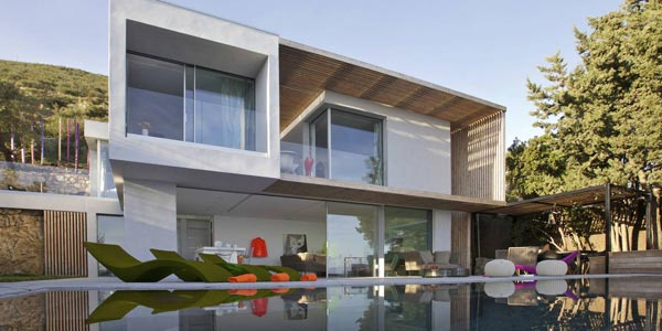 Villa L'Escalet by French architect Vincent Coste.