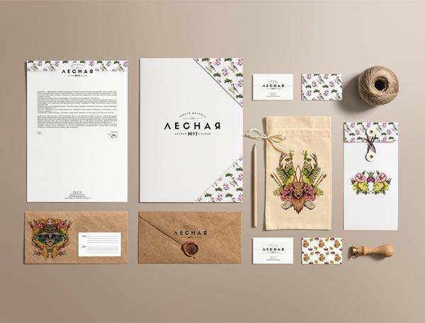 Forest Design Week - stationery set